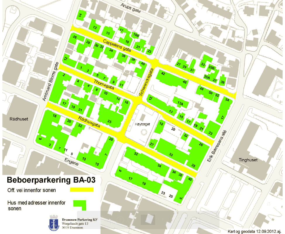 Boligsone-/ beboerparkering - Tiltakskatalog for transport